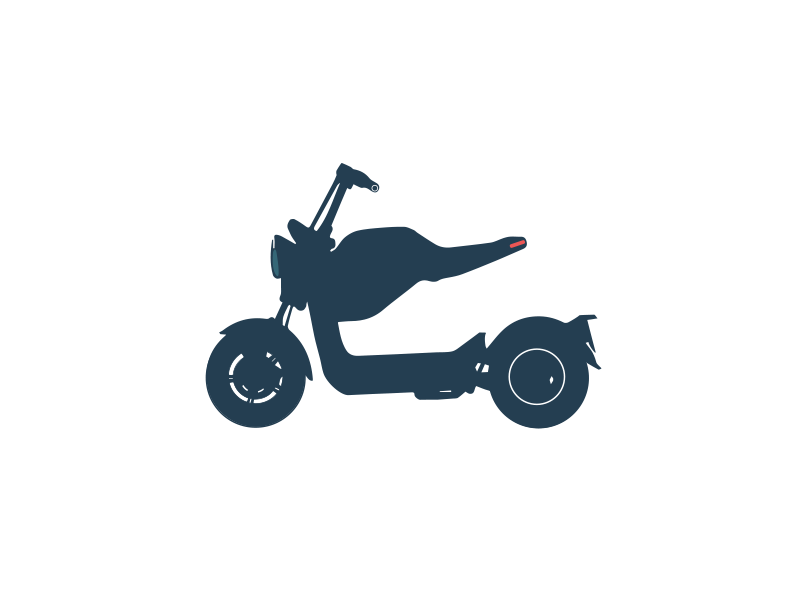 logo scooter électrique idealrent